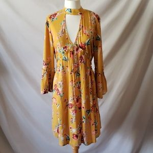 Band of Gypsies Dresses - Floral dress